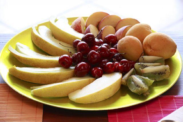 la frutta utilizzata dall'agriturismo è in gran parte coltivata e raccolta sul posto