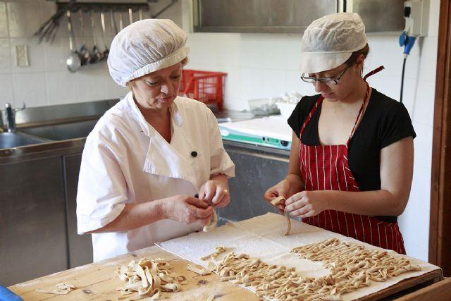 la preparazione dell pasta fatta in casa