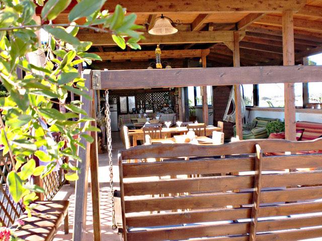 Terrazzo dove consumare la prima colazione
