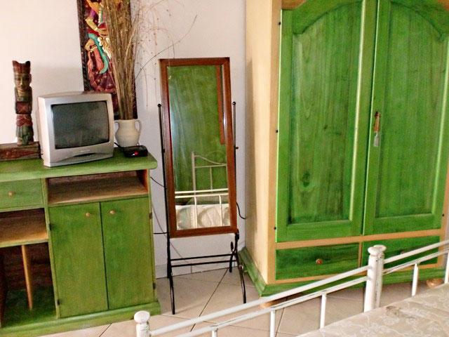 Vista degli interni della Camera Verde
