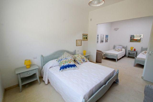 matrimoniale in appartamento con due camere da letto