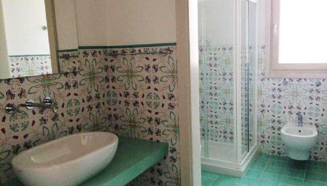 il bagno della camera matrimoniale deluxe