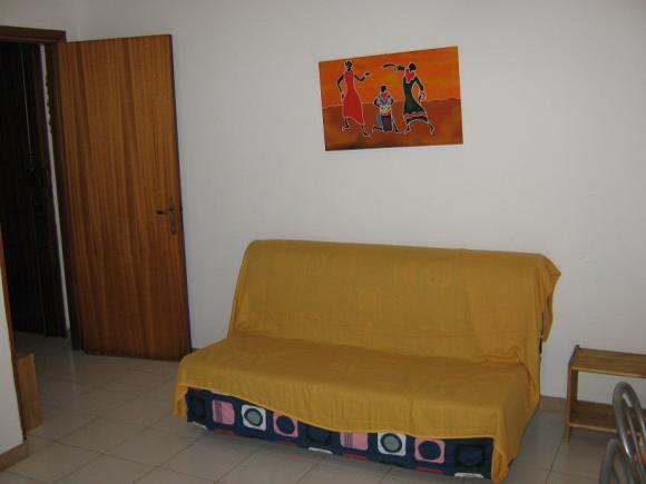 Divano letto - Bilocale al secondo piano