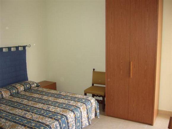 Vista della camera bilocale al primo piano
