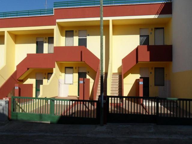 Vista degli esterni degli appartamenti