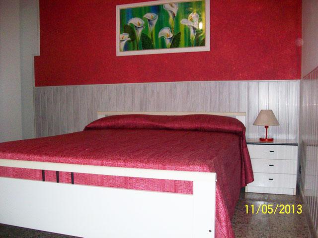 Vista di una delle camere da letto