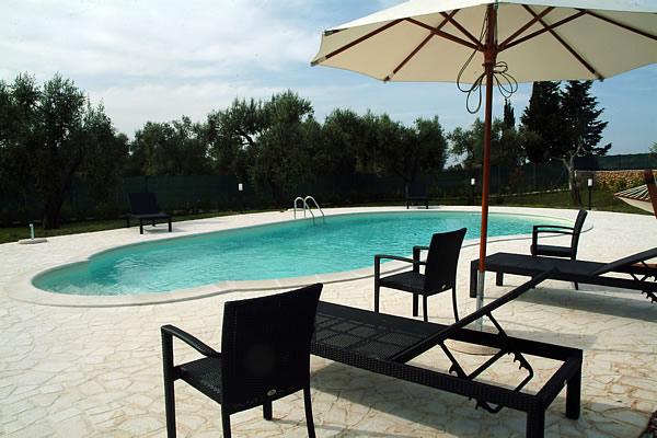 Bed & Breakfast Un Posto al Sole ad Otranto provvisto di piscina
