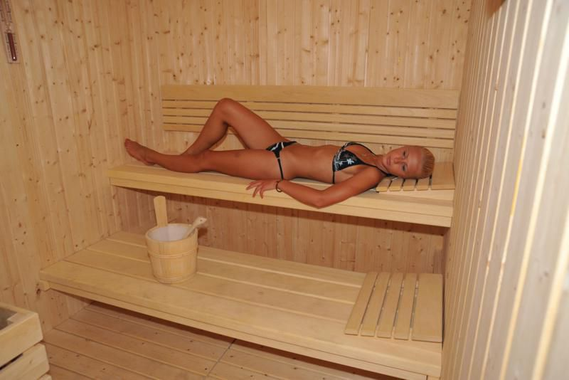 Centro benessere con sauna all'interno
