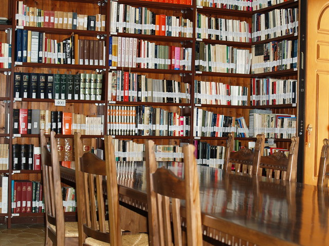 biblioteca del Monastero