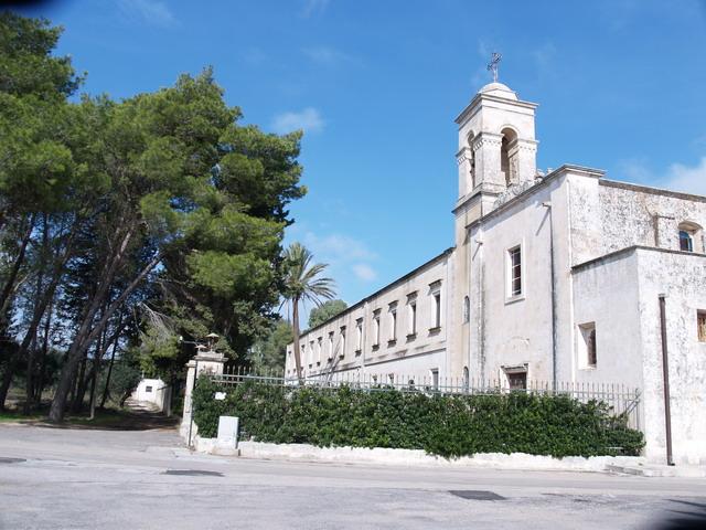 vista esterna del monastero
