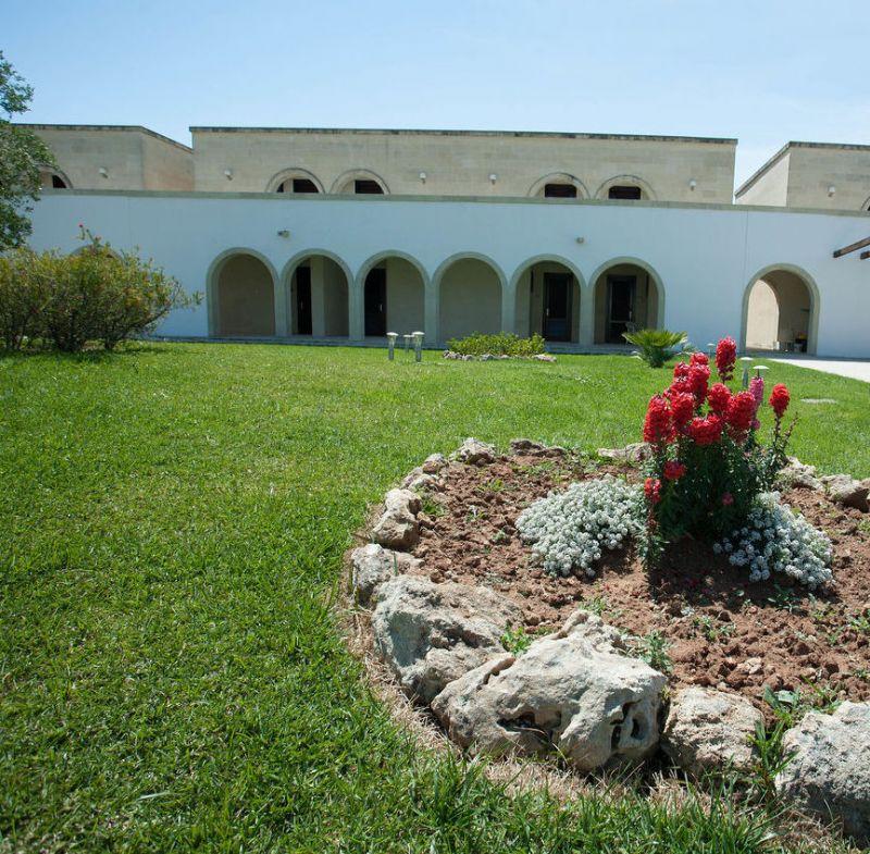 Giardino del villaggio Corte del Salento