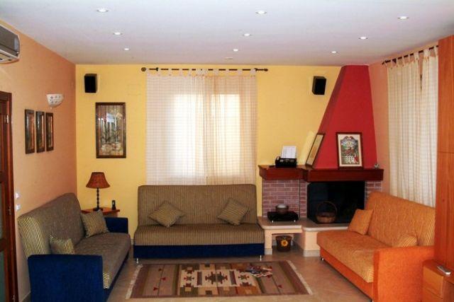 salotto area relax del BB