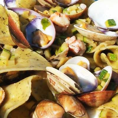 Le specialità a base di molluschi del dolce vita restaurant