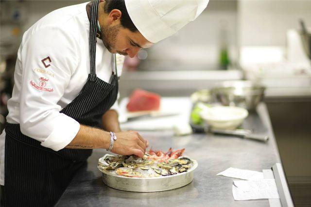 Gli chef del Palazzo del Corso Hotel and restaurant