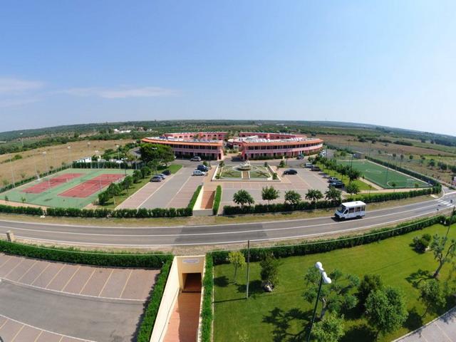 Vista panoramica del Villaggio