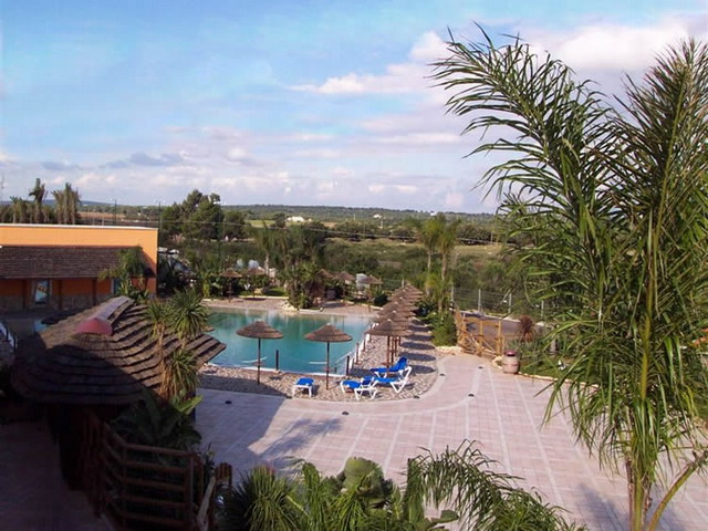Piscina del Villaggio Punta Grossa