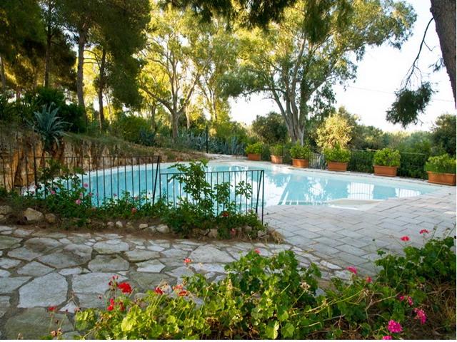 Vista della piscina - Masseria Fontanelle