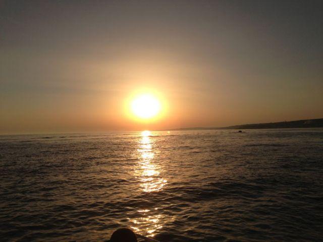 il mare e i tramonti di Torre Mozza