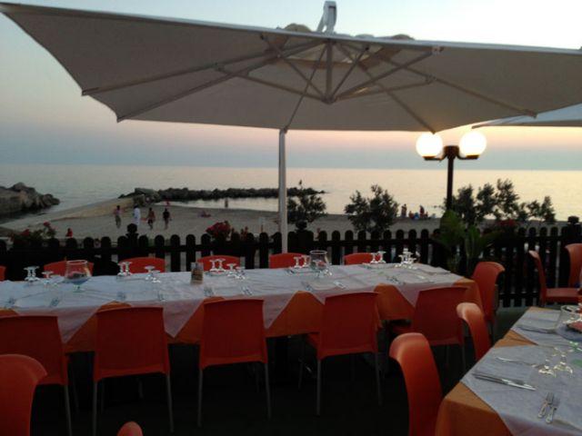 terrazza ristorazione dell'hotel