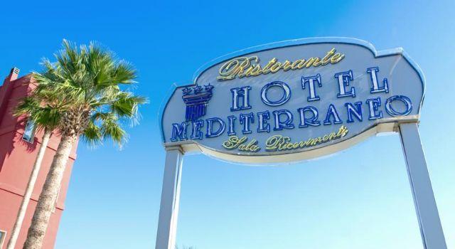 Arrivo all'Hotel Mediterraneo di Porto Cesareo