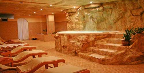 Centro Benessere all'interno dell'Hotel Resort Barone di Mare