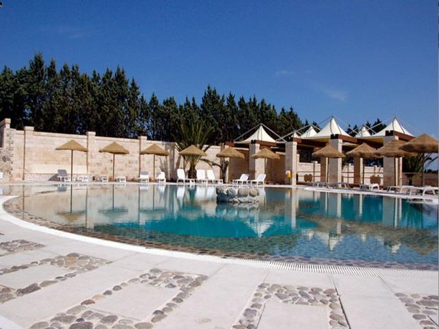 Particolare piscina dell'Hotel