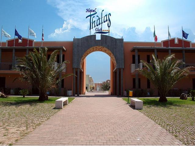 Entrata Villaggio Hotel Thalas Club