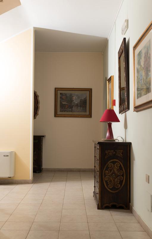 angolo interno della villa