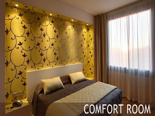 Vista della comfort room