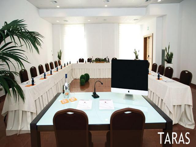 Sala conferenze e meeting dell'hotel