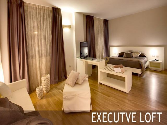 Camera da letto executive loft