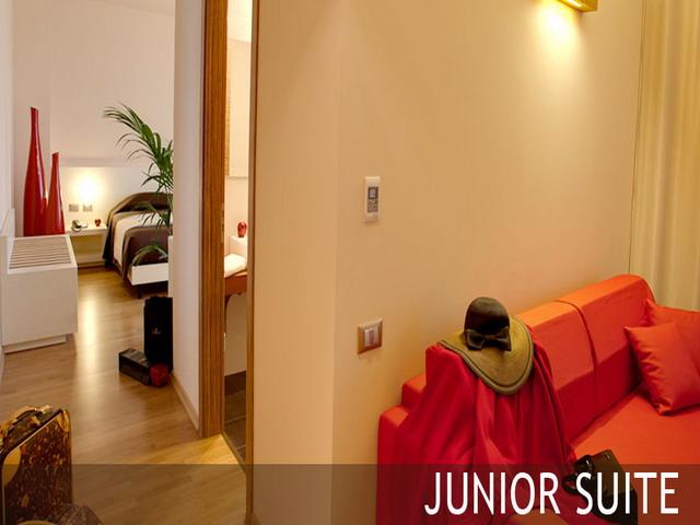 Interni della junor suite