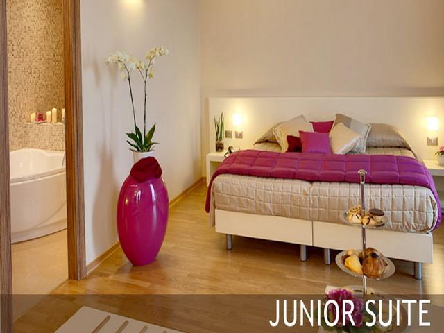 Camera da letto della junor suite