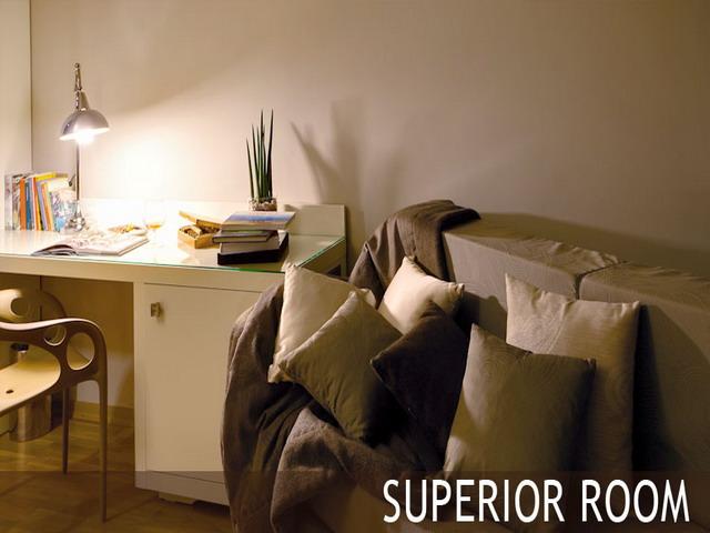 Interni della superior room