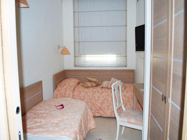 Camera con letti doppi