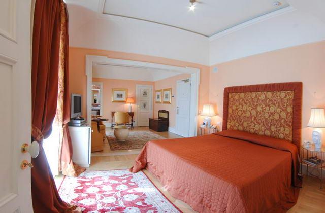 Eleganti camere da letto del Relais