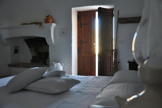 camere con ingresso indipendente dalla corte della masseria
