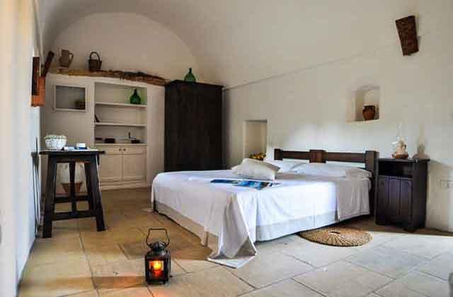 elegante camera della dimora storica e Bed and Breakfast di Masseria Uccio