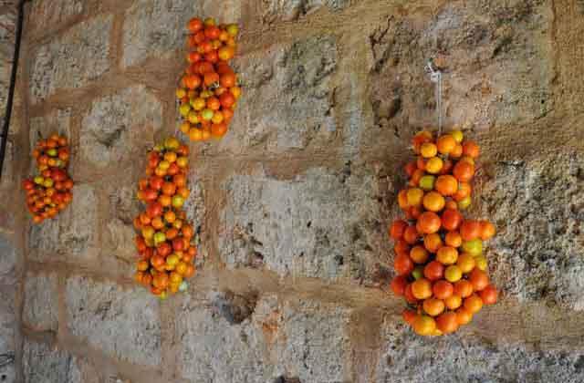la vecchia tecnica della conservazione del pomodoro nel Salento