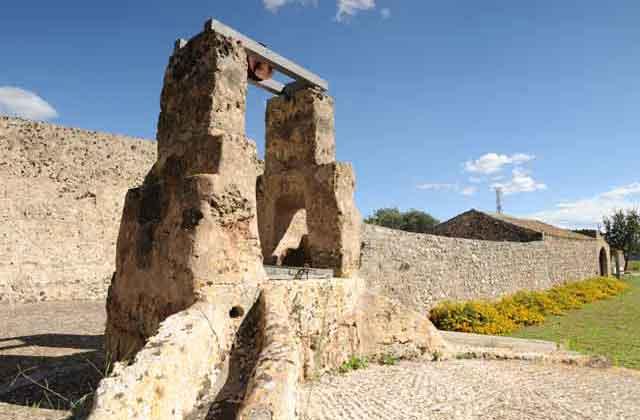 l'antico pozzo della masseria