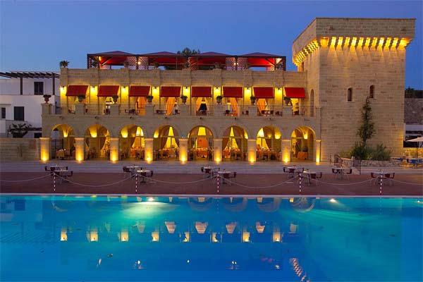 Esterni del meraviglioso hotel e residence Messapia nella località di Santa Maria di Leuca, punta estrema del Salento
