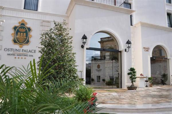 Hotel Ostuni Palace in Puglia