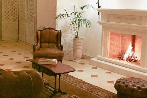 Atmosfere particolari ed eleganza all'interno dell'Hotel Palace