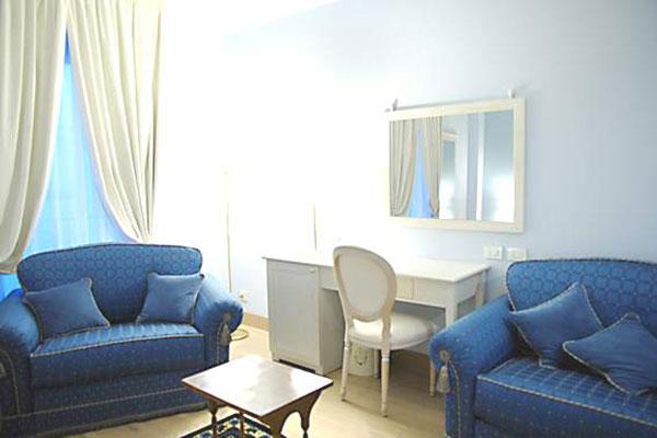 Salottini relax all'interno delle camere