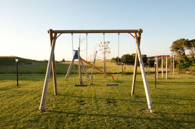 piccolo parco giochi per bambini