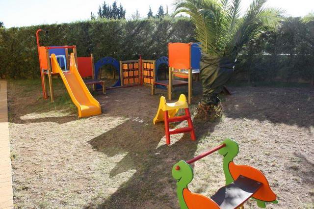 Parco giochi per i piu' piccoli