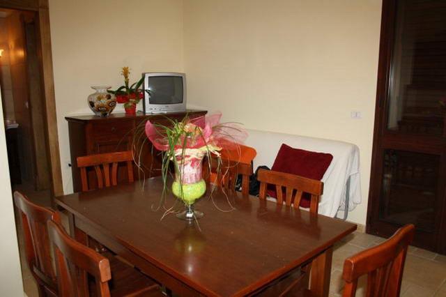 Sala da pranzo di un appartamento