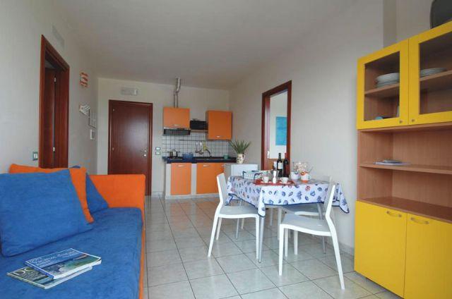il soggiorno degli appartamenti