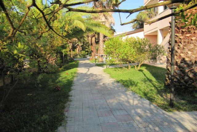 i viali del residence Vaìa