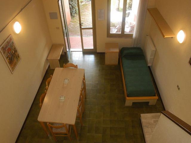 Vista degli interni di uno degli appartamenti
